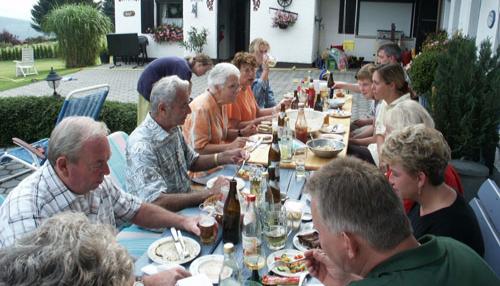 Grillfeier - Ferienhaus Bergwald, Bodenmais